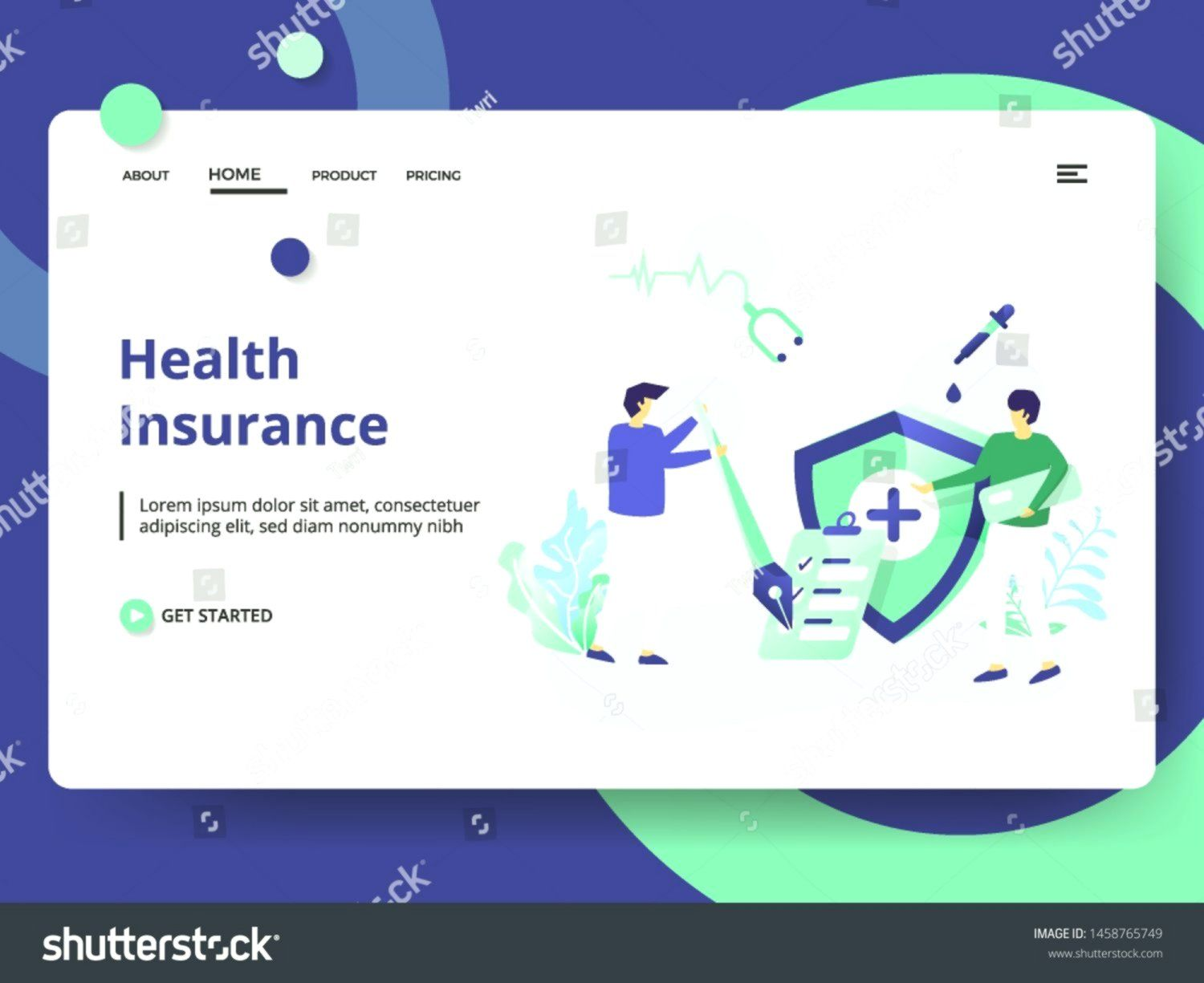 Insurance Poster Health A3 Health Insurance Poster By Brandpacks