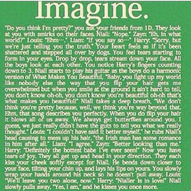 My favorite niall imagine