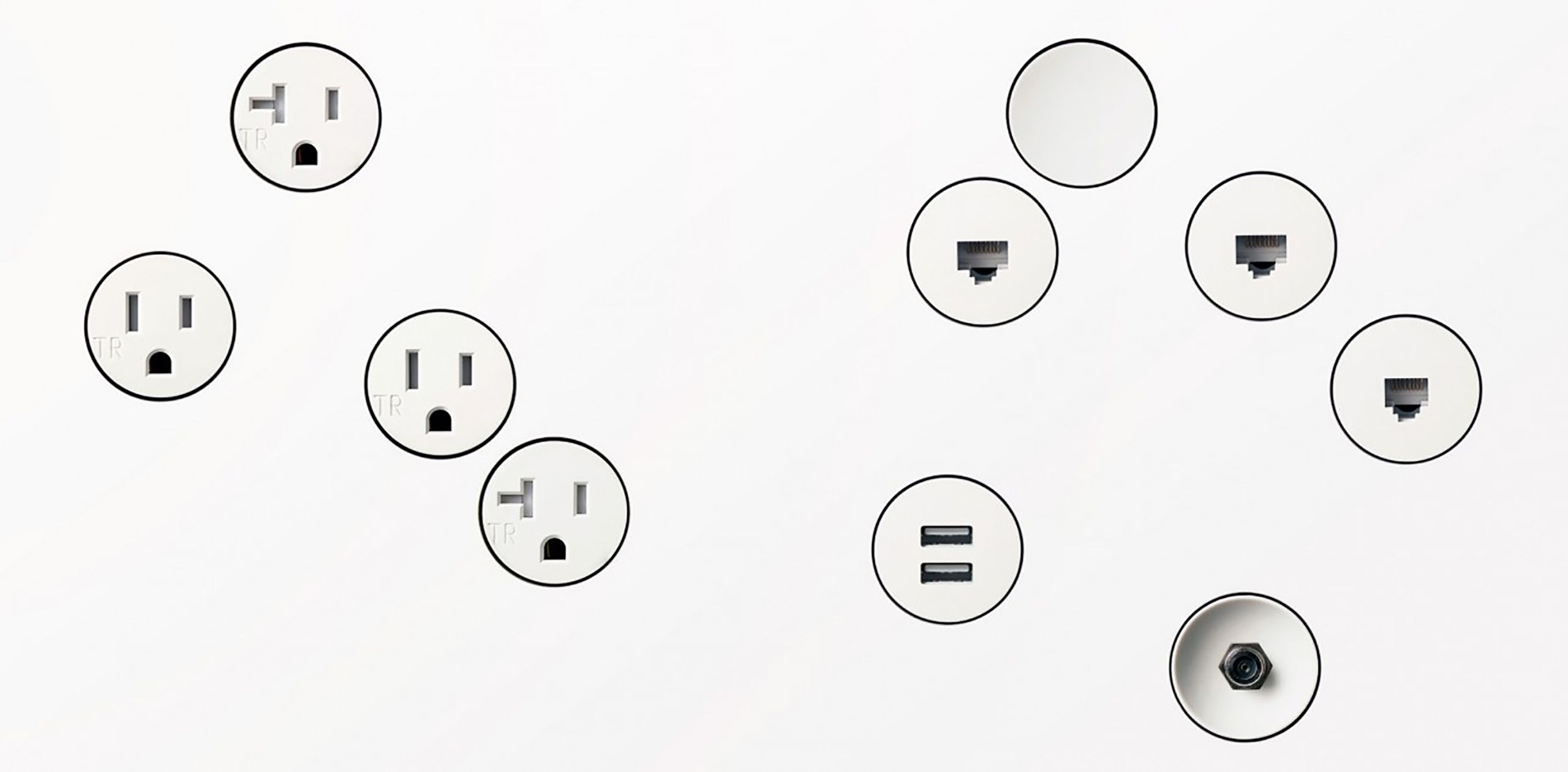 Flush Mount Drywall Outlets