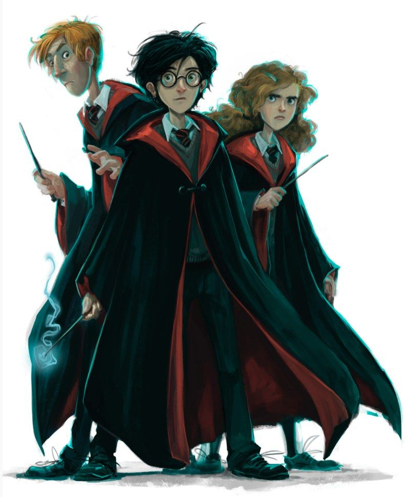 Harry Potter Book Art Hogwarts See The New Bac...