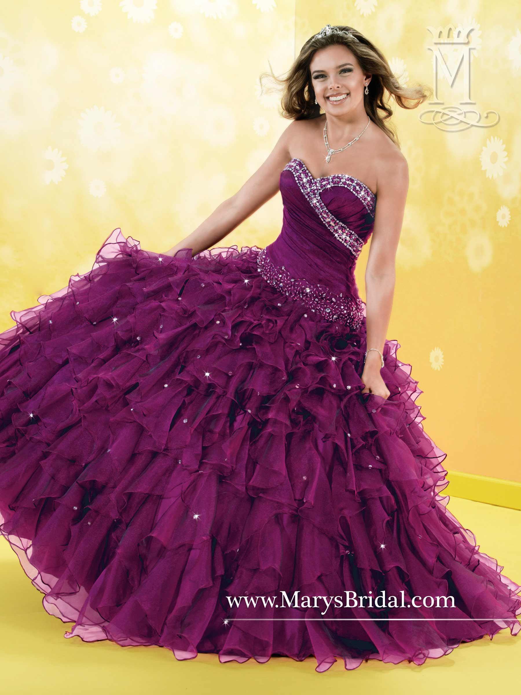 Pin de tere sistos en vestidos quinceañeras | Pinterest ...