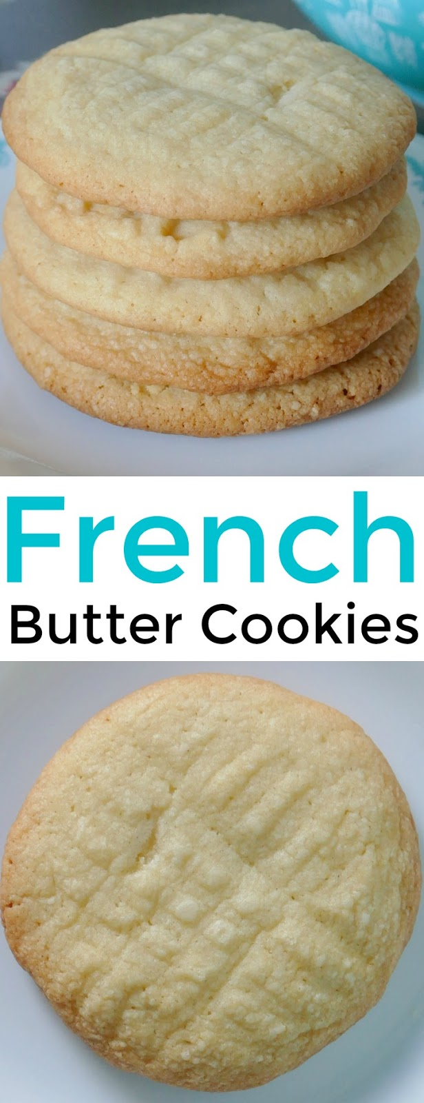 French Butter Sugar Cookies Recipe