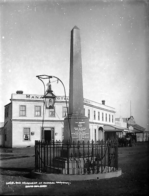 The Monument at Manaia, Taranaki - Burton Brothers