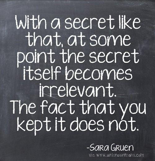 Keeping Secrets Keeping Secrets Quotes Secret Quotes Keeping Secrets