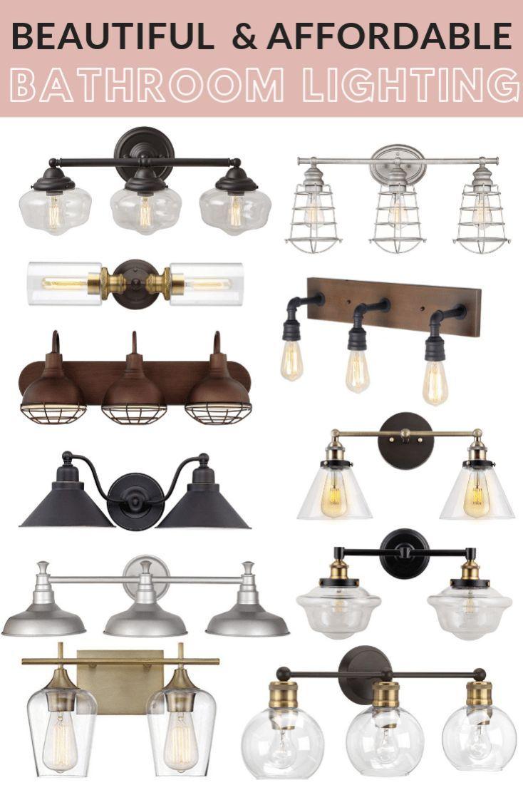 Photo of Affordable Farmhouse Style Bathroom Lighting – Maebells