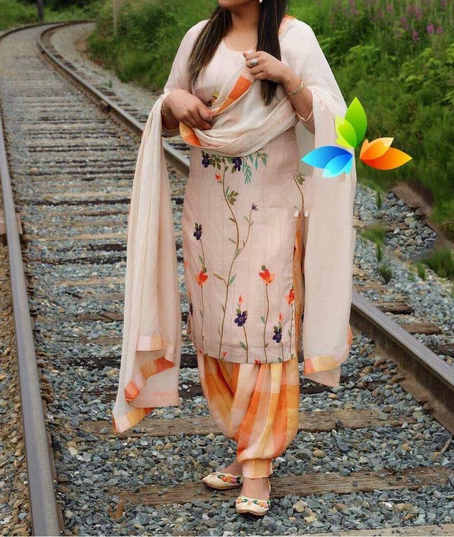 Pin By Harpreet Kaur On Punjabi Suit Patiala Suit Designs Designer Punjabi Suits Patiala Indian Suits Punjabi