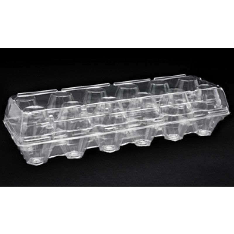 Egg Cartons Clear Plastic Cartons For Standard Dozen Eggs 188 Case Egg Carton Carton Egg Container