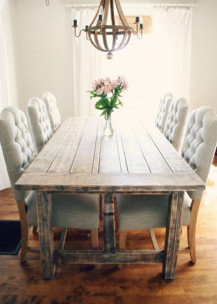 chaise capitonnée salle a manger 13 – Idées de Décoration intérieure ...