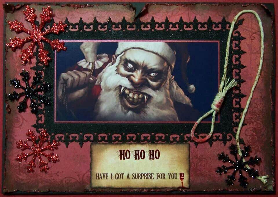 No lump of coal this year? Scary christmas, Creepy