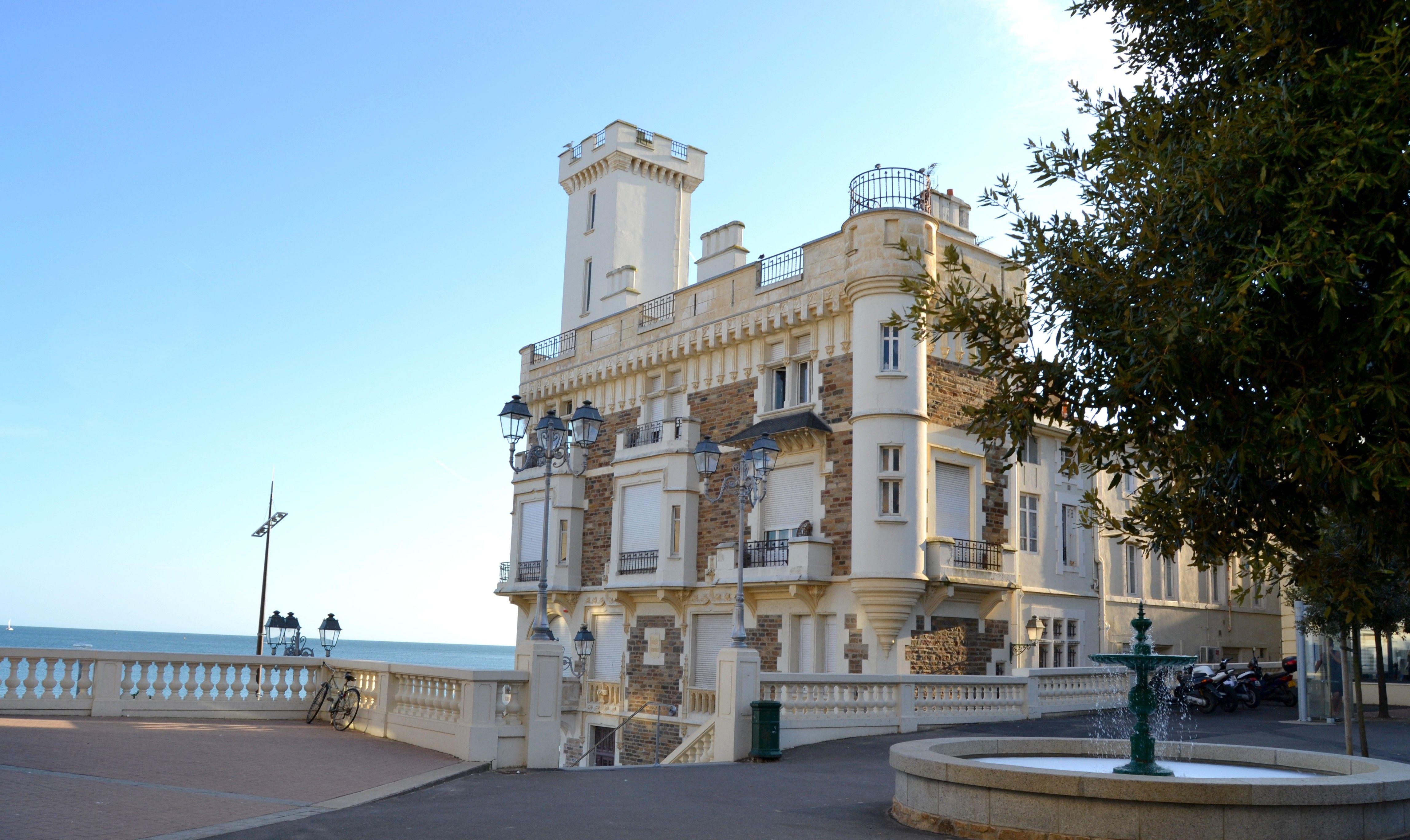 Villa Eugenie Biarritz France Built starting in 1855 by Eugenie