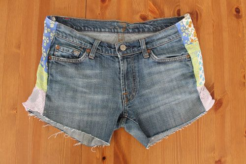 Turn your too-tight jeans into adorable denim cutoffs with this simple tutorial.