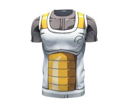 31e445c3 Vegeta Resurrection F Armor Whis Symbol Battle Suit Fitness T-Shirt ...