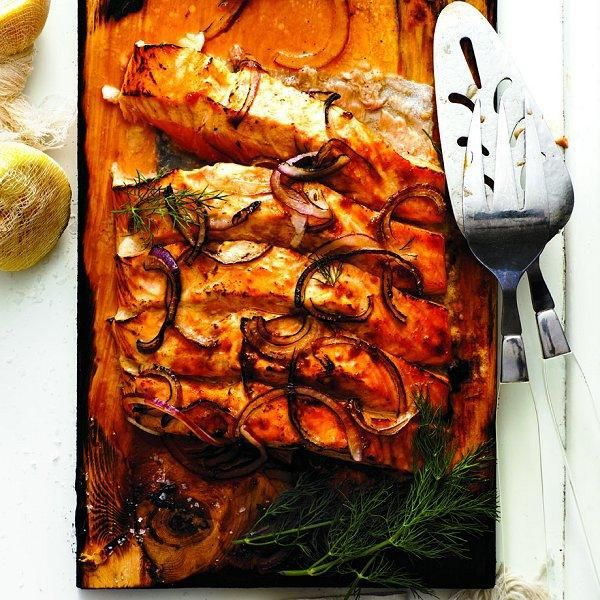 Cedar-plank salmon   12 simple salmon recipes