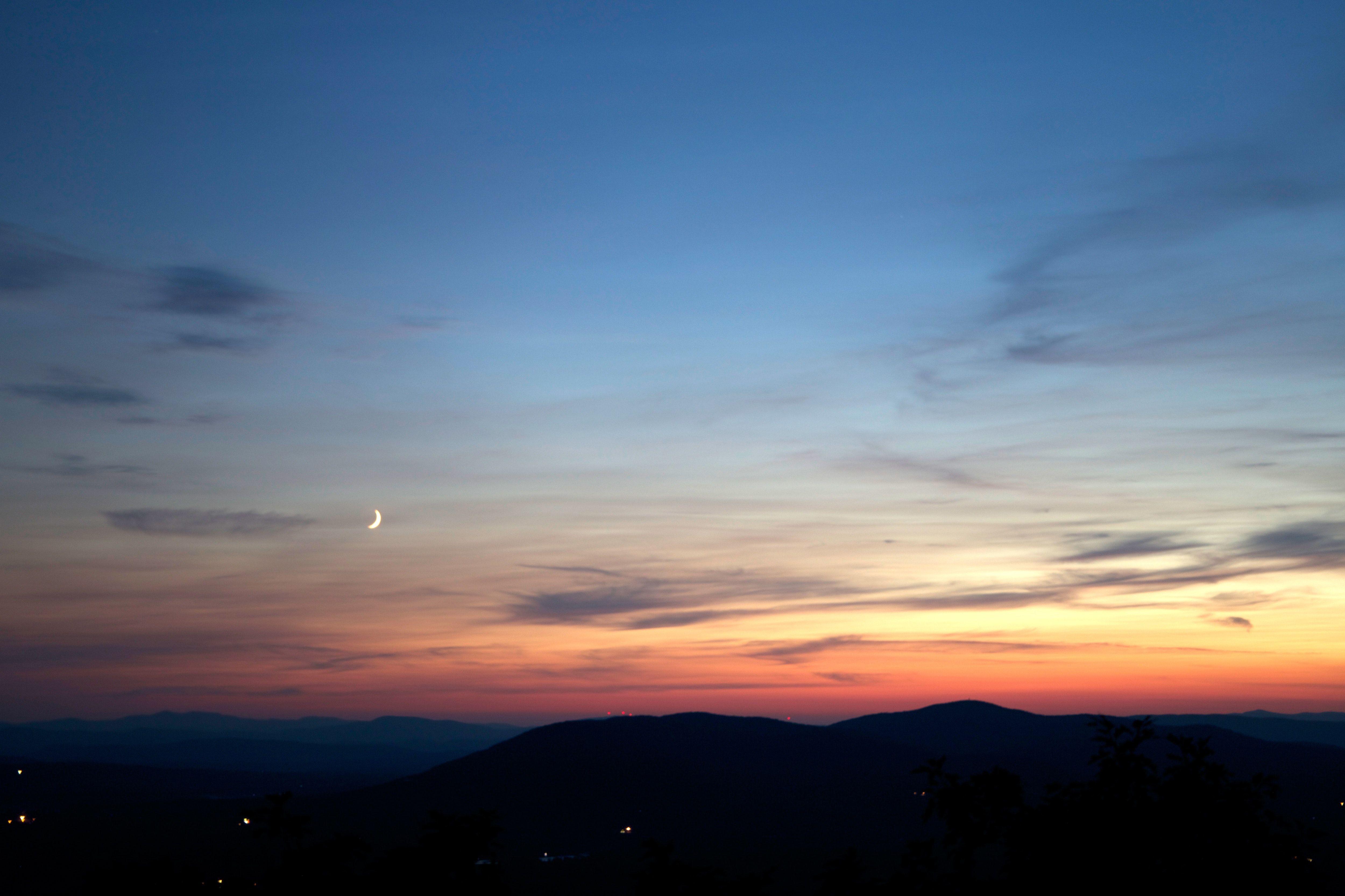 Pin On A New Lens Hd wallpaper sky clouds sunset dusk