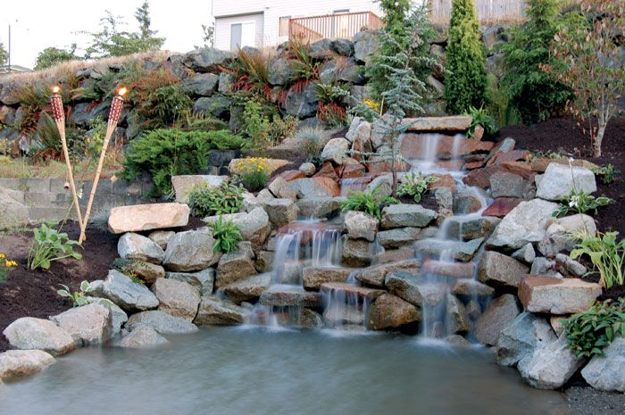 Landscaping Pond And Waterfall : Landscaping ponds landscape pond and waterfall koi