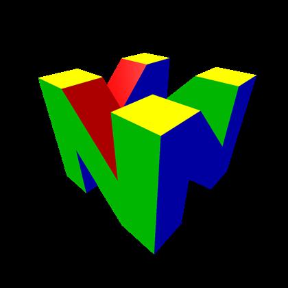 N64 Emblem N64 Logos Gaming Logos