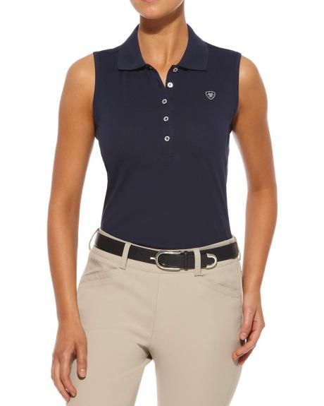 75644f449baf58 Ariat Prix Sleeveless Polo Top