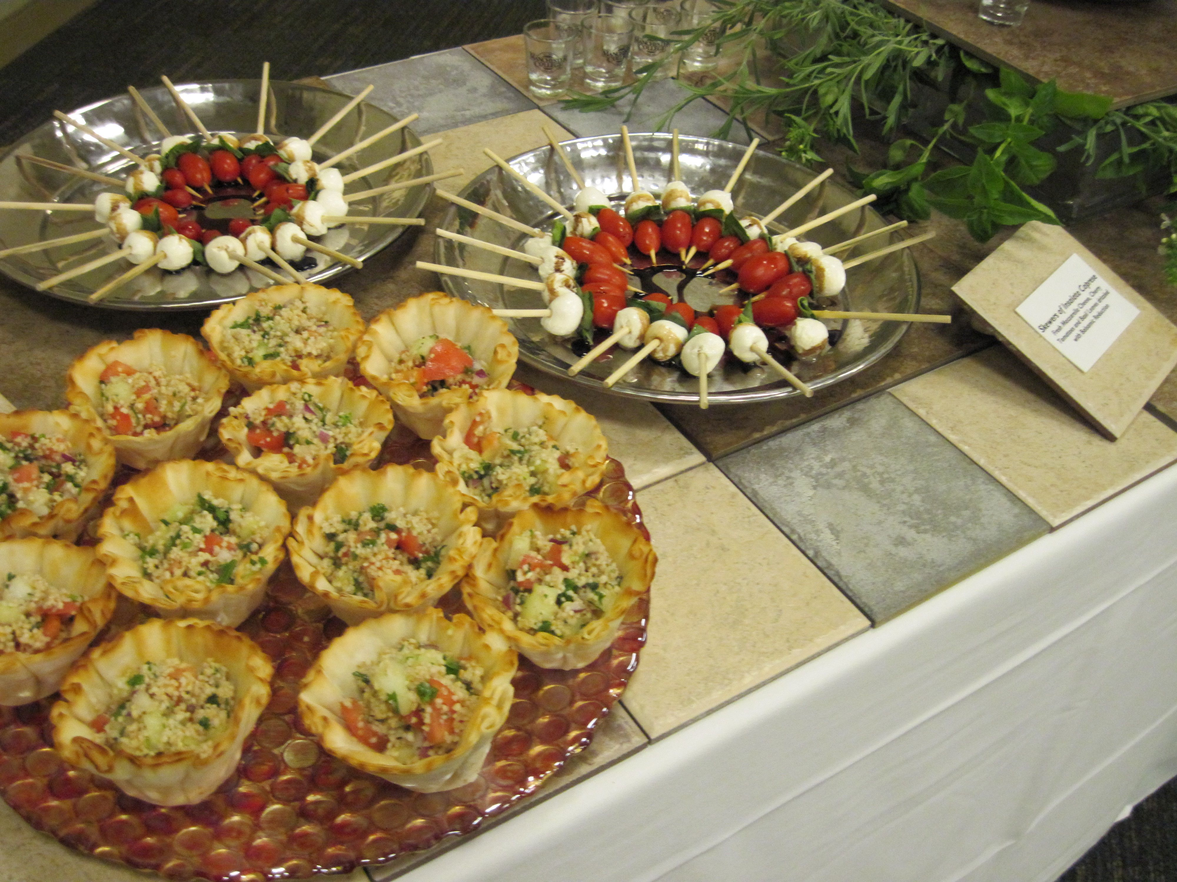 Light Mediterranean Appetizer Table | Appetizers table ...
