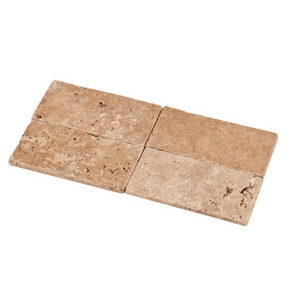 2nd option for main portion of back splash Noce Travertine Tile rectangle