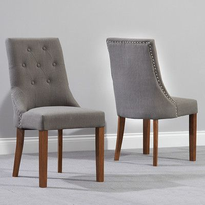 Maryknoll Upholstered Dining Chair Fabric Dining Chairs Oak Dining Chairs Oak Dining Sets