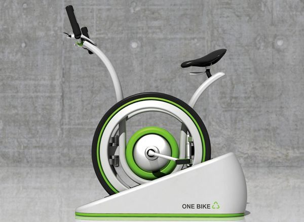 Eco Friendly Onebike Uses Kinetic Energy To Generate Electricity Energy Cool Technology Innovation Technology