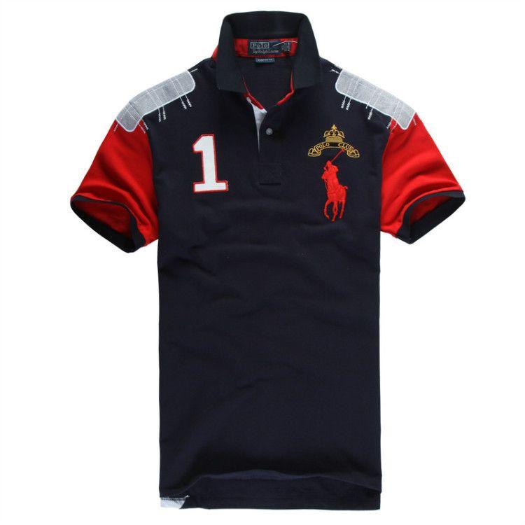 Ralph Lauren Men's No.1 Club Short Sleeve Polo Shirt Navy Blue http:/