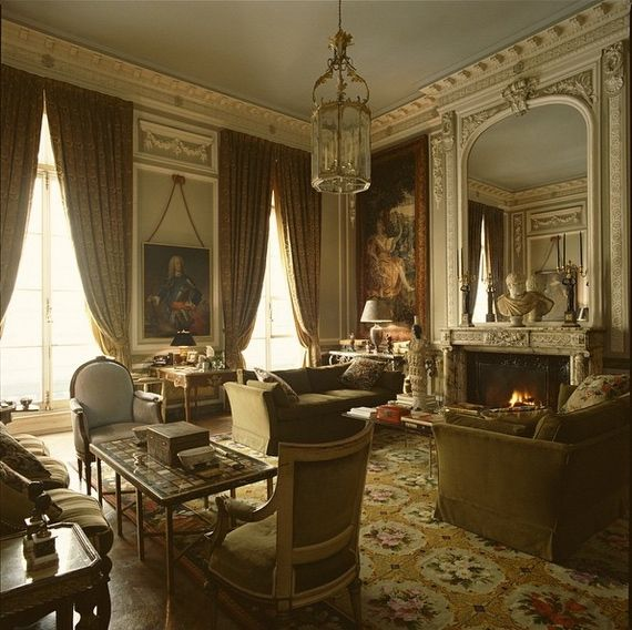 Victoria Manor Apartments: New York Apartment Of Peter Glenville, Film Director And