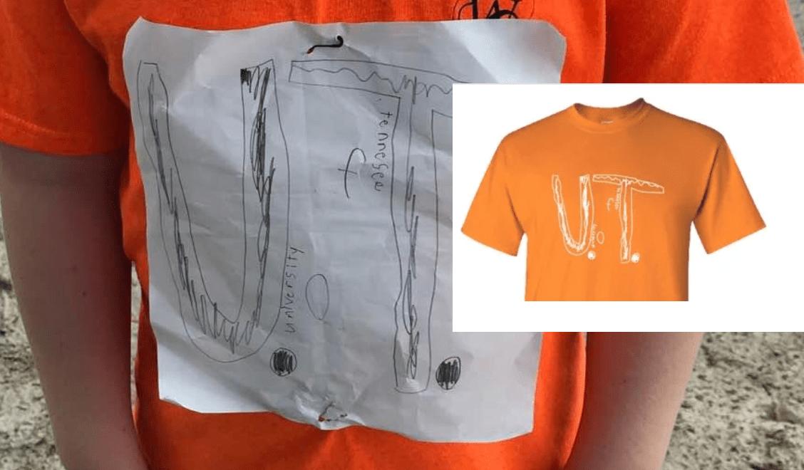 Tennessee Vols Add Boy's T Shirt Design After Mean Girls