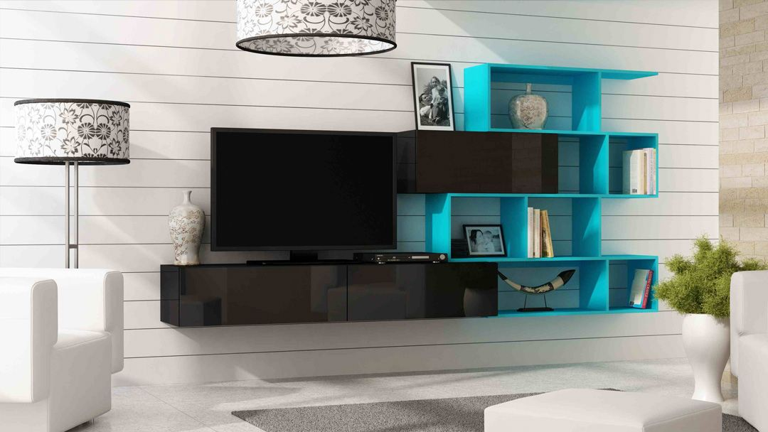 Vero style 6 | Modern wall units, Living room wall units and Modern wall