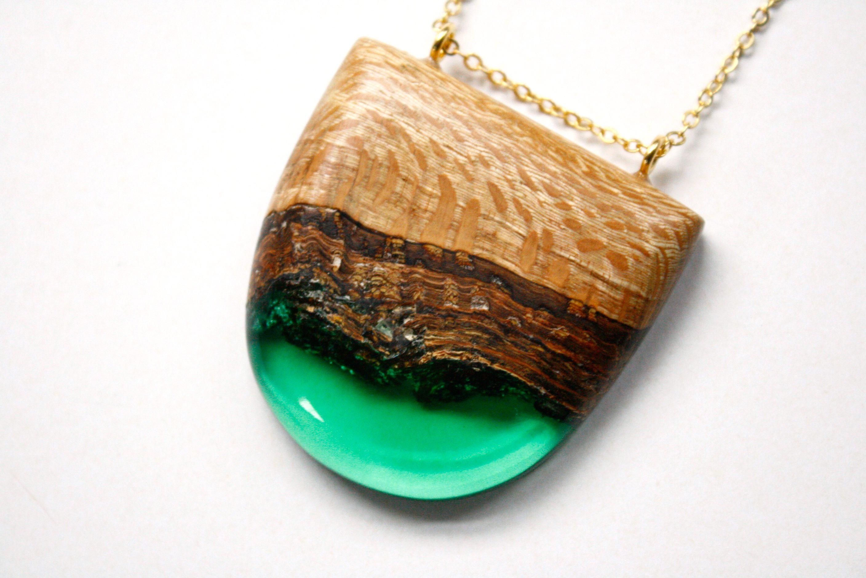 Boldb wood and resin jewellery inspired by australian