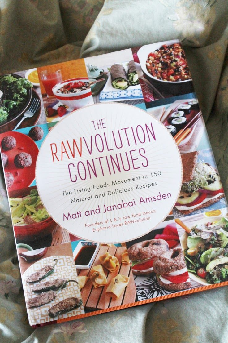 This rawsome vegan life book review the rawvolution continues i food forumfinder Image collections