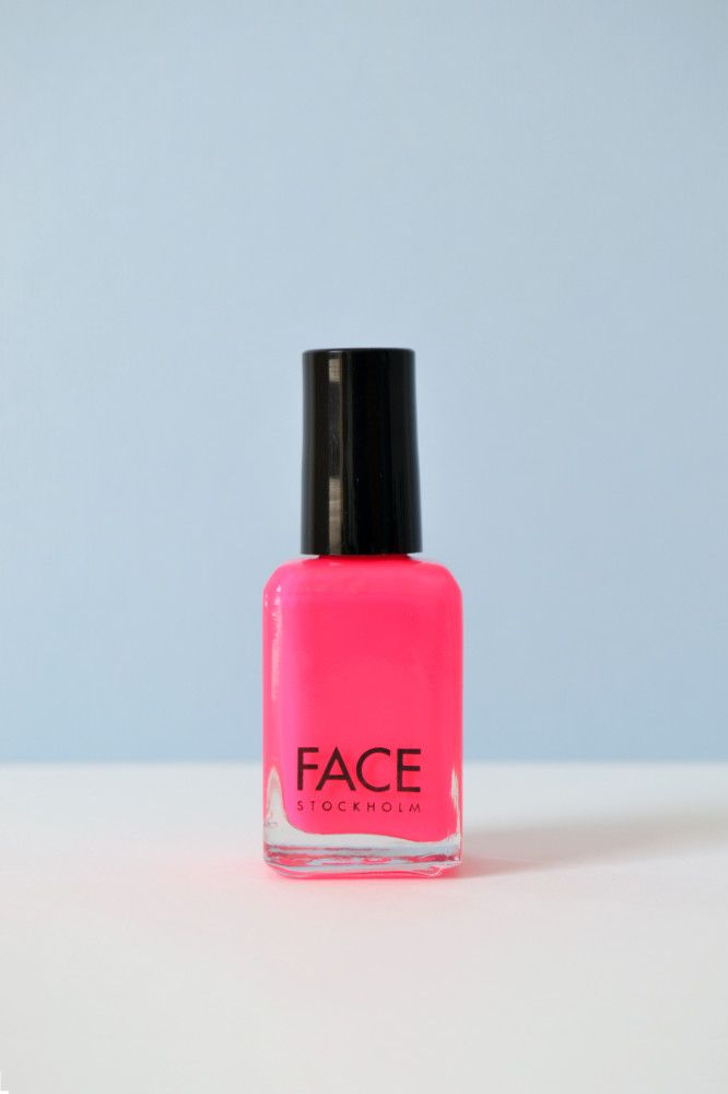 Neon \'Hot WaterMelon\' Nail polish by Face Stockholm - 3 Free / Three ...