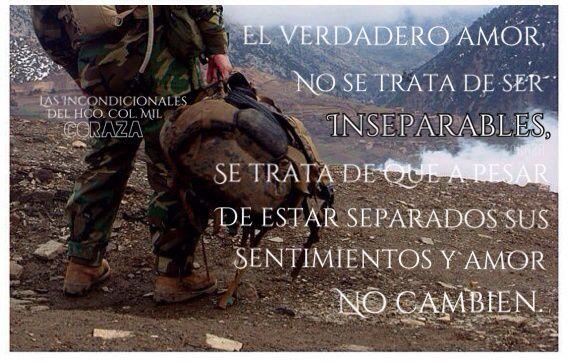 Amor Militar, Frases
