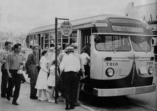 Salford City Transport bus photographs 1950s/1960s |Photos Old City Buses 1950
