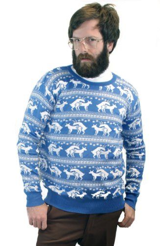 adca54538be Humping Reindeer Ugly Christmas Sweater   Christmas Dongs