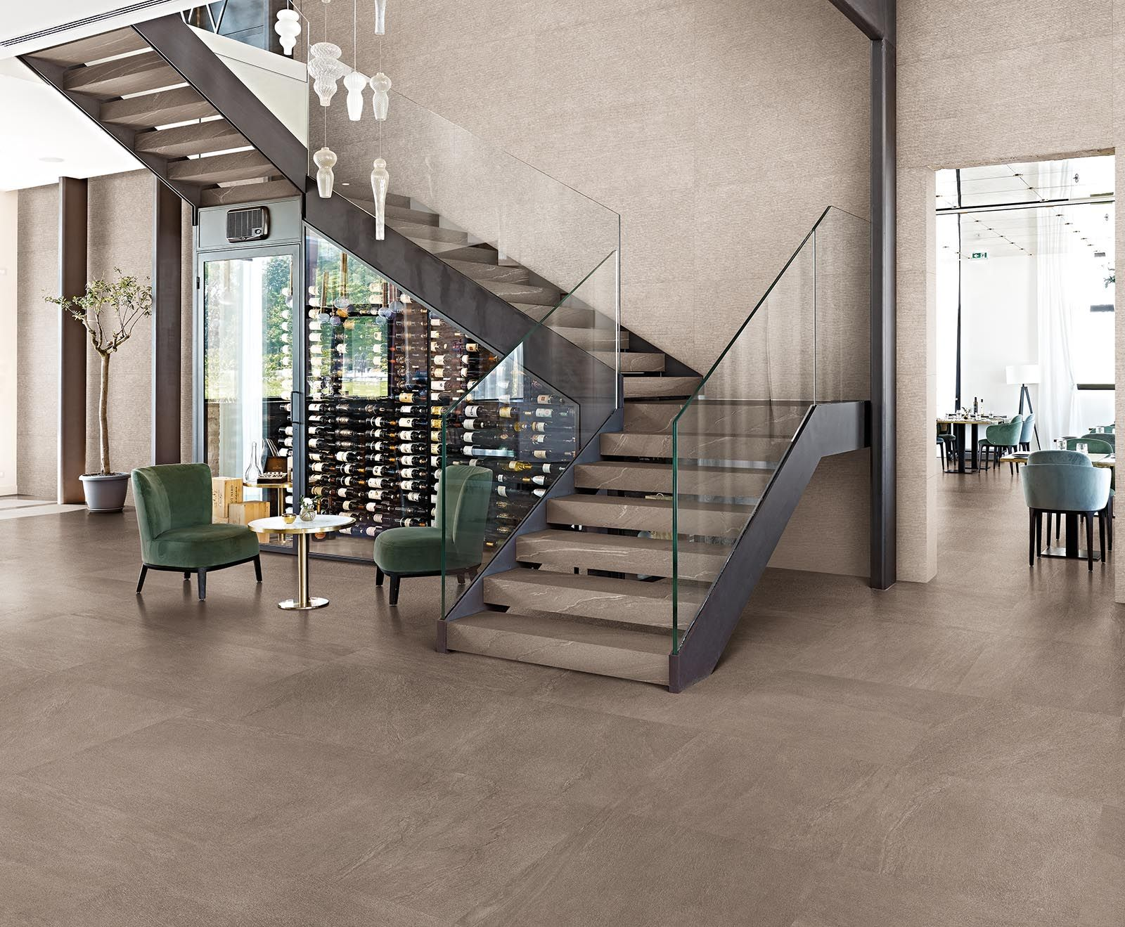 Phases Porcelain Tile With Images Stone Architecture Minimalist Stone Collection