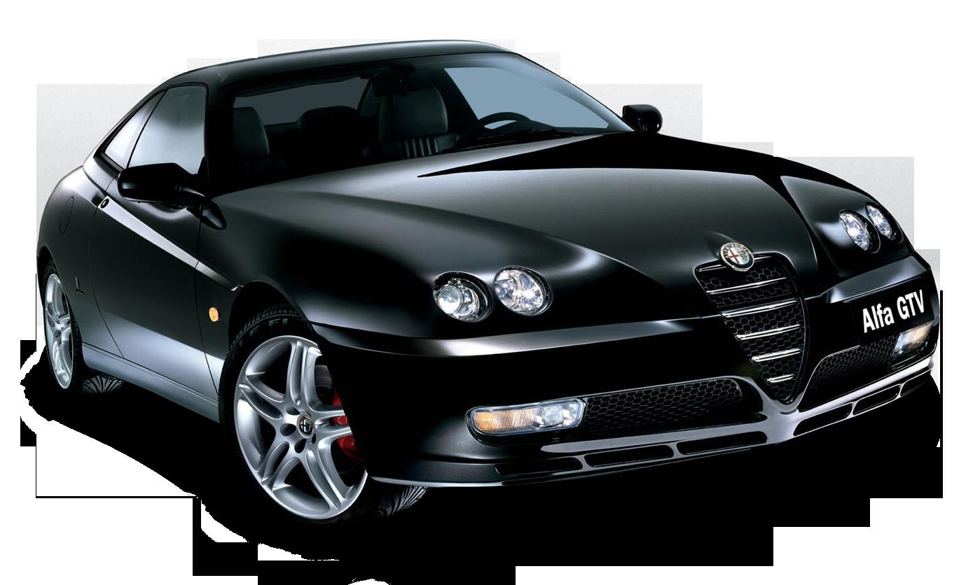 Black Alfa Romeo GTV Car Автомобиль будущего, Автомобиль