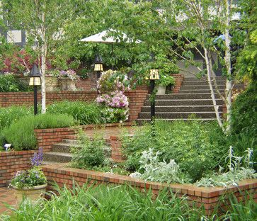 Brick Retaining Wall Design Ideas, Pictures, Remodel and Decor ...