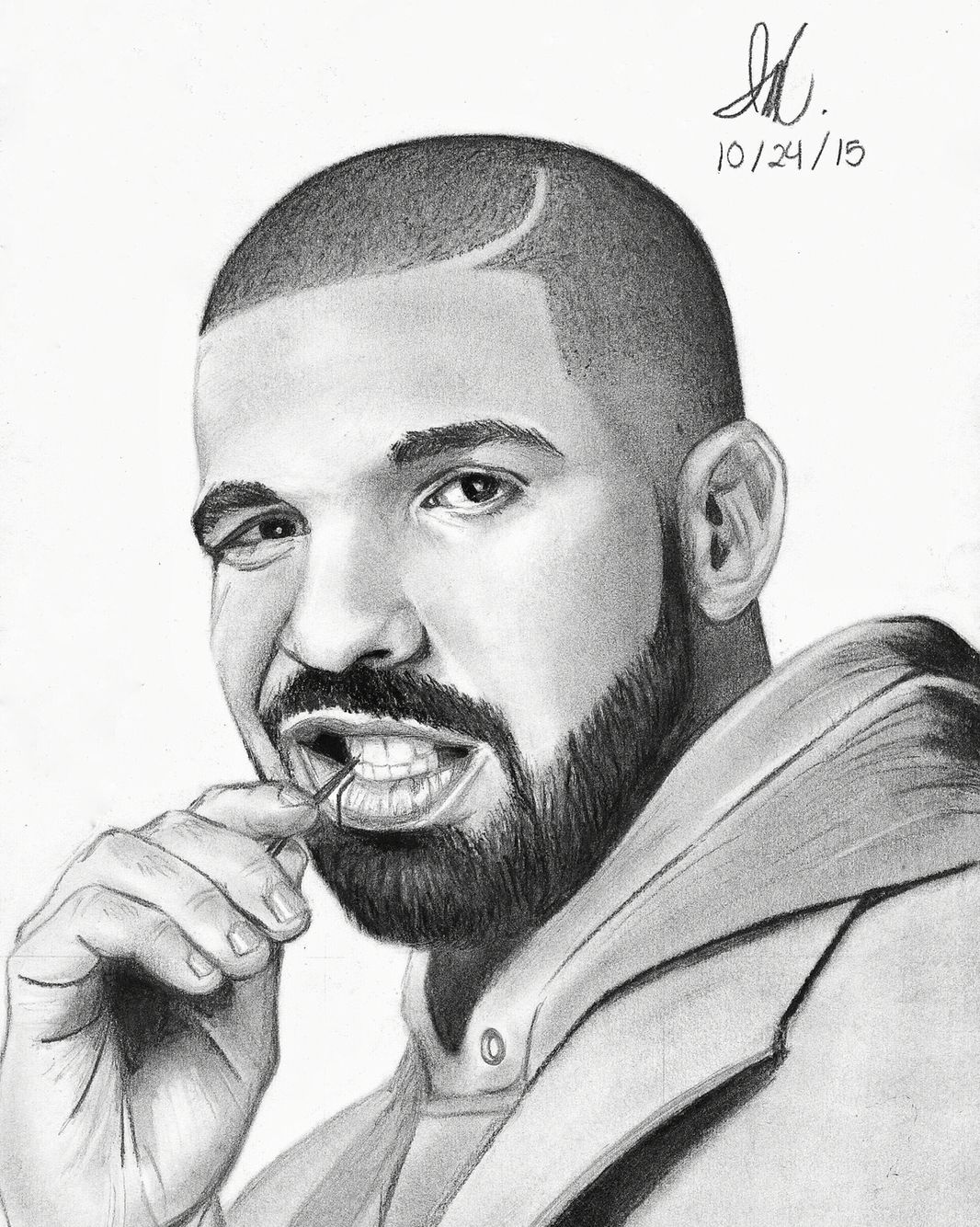 Drawings Of Famous Rappers Drawn Celebrity Charcoal ...