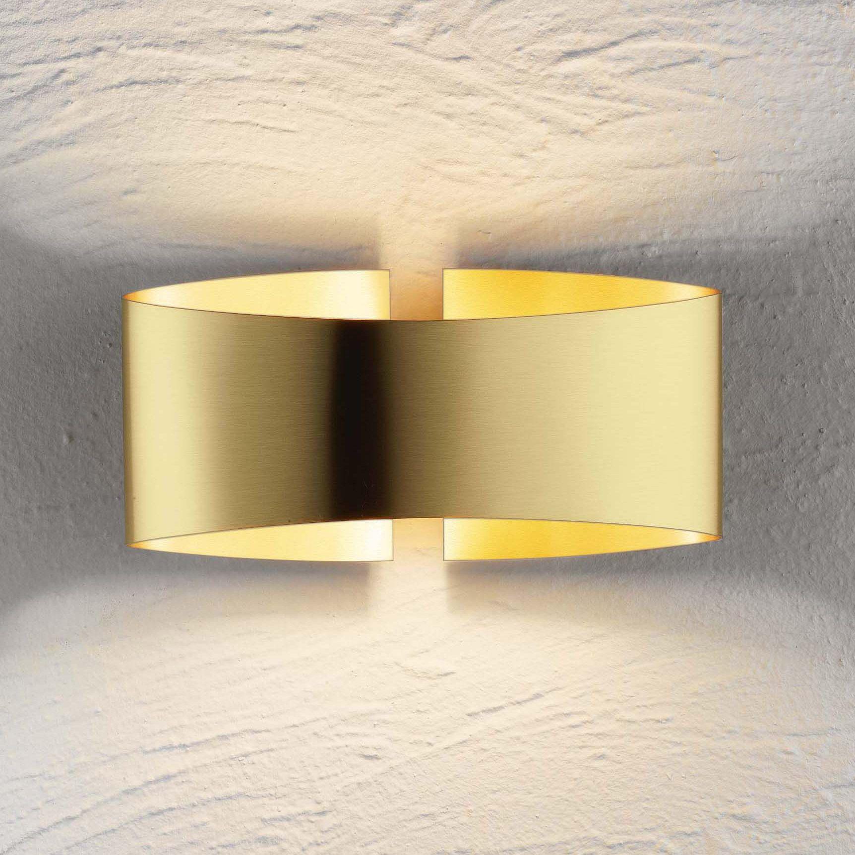 Voila Metal Wall Light | Holtkoetter at Lightology | LIGHT ...