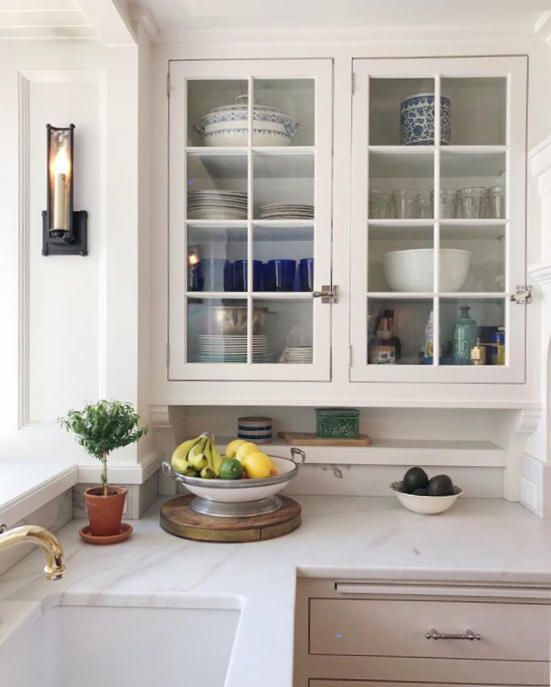 pin by dianne biggart on best glass kitchen cabinets kitchen new kitchen cabinets on kitchen cabinets with glass doors on top id=70073