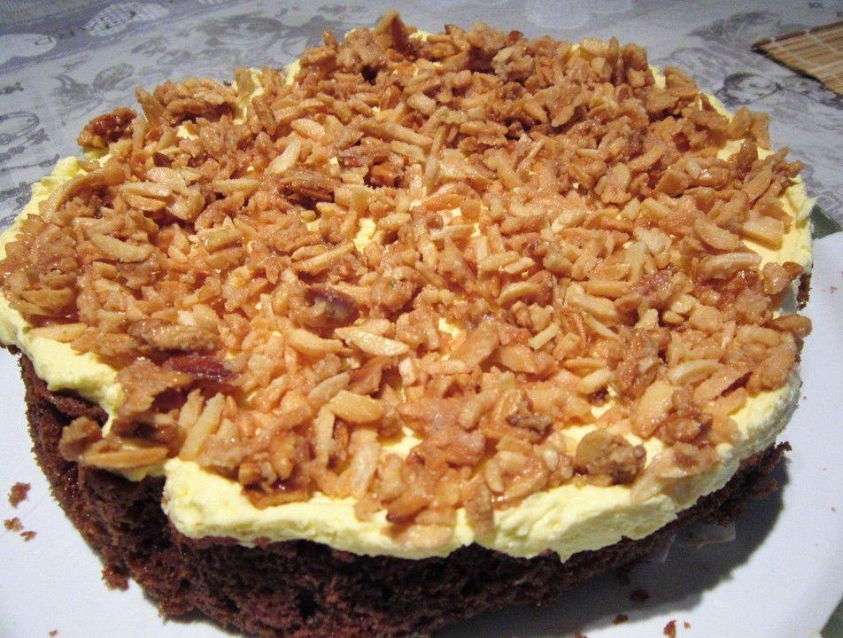 Blechkuchen Gebrannte Mandeln Rezepte Pinterest Blechkuchen