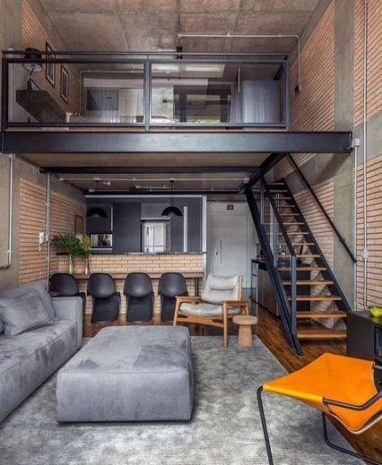 54 Trendy Living Room Ideas Industrial Garage Livingroom Loft