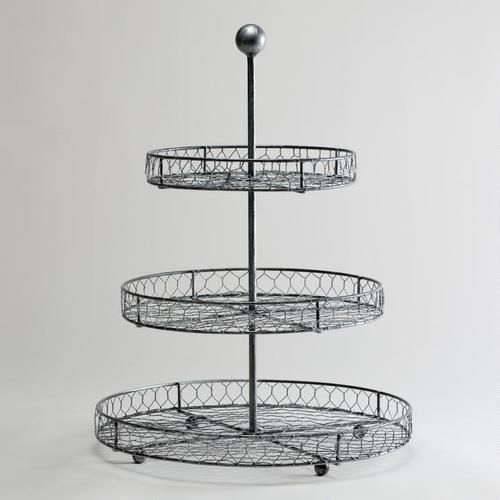 Three-Tier Wire Stand | Gift Ideas | Pinterest | Third and Countertop