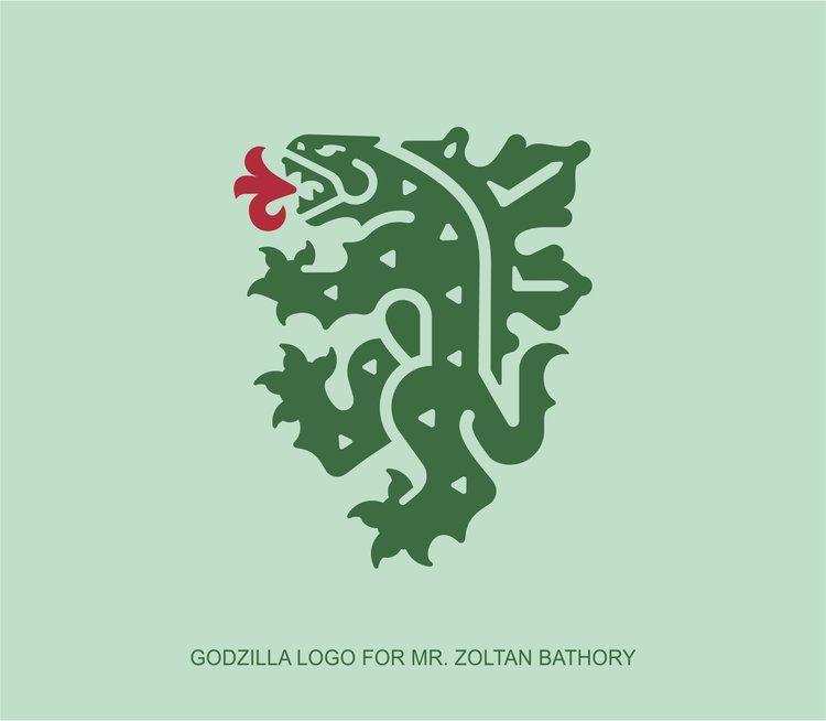 Godzilla Logo In 2020 Unicorn Logo Heraldry Design Graphic Design Logo