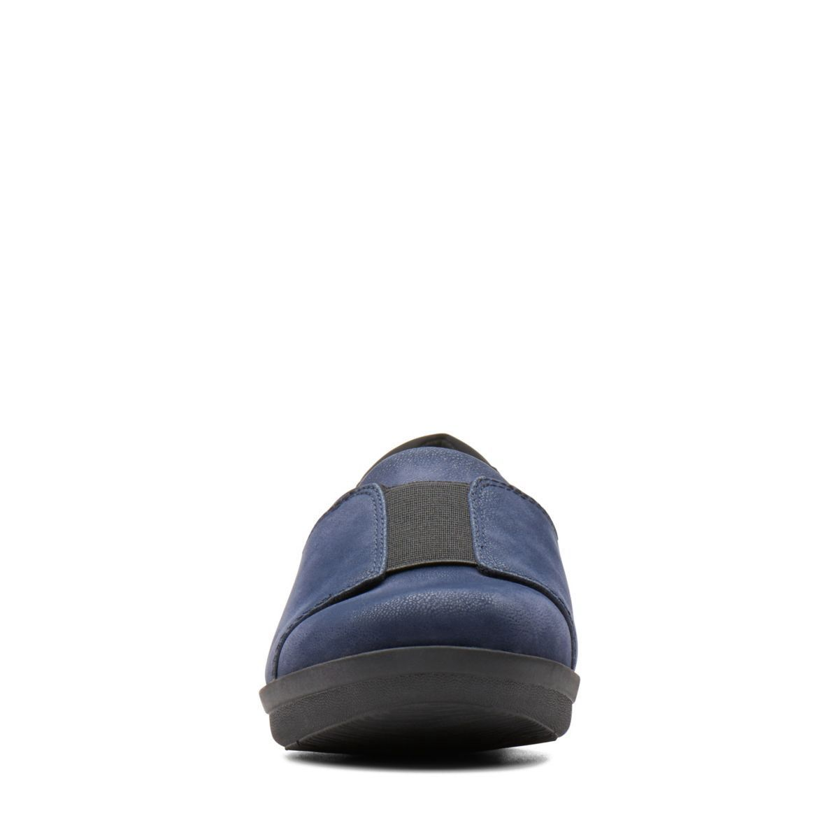 5b6ad984dc6 Clarks Ayla Band - Womens Shoes Navy 8 E (Wide)  womenshoesmules ...