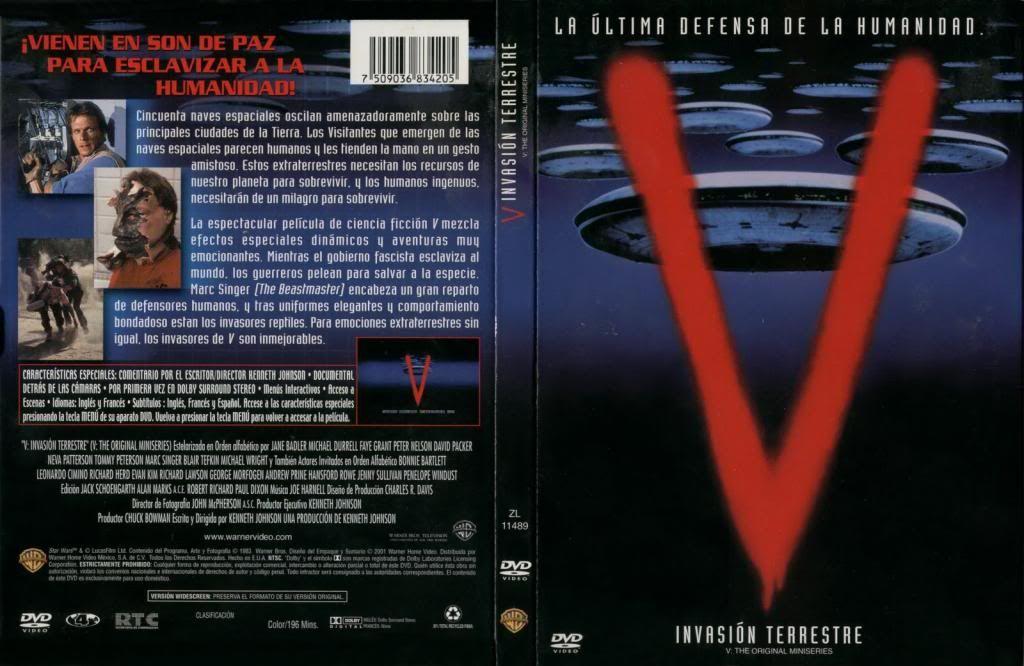 V Invasion Extraterrestre Serie Completa Brrip 720p Latino Mg Descargar Gratis Alien Series Movie Posters