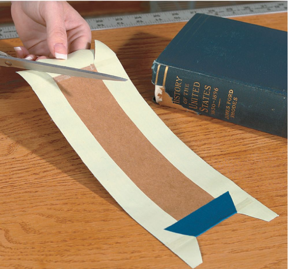 The Book Doctor Is In Repairing Damaged Covers Book Repair Book Binding Diy Book Binding