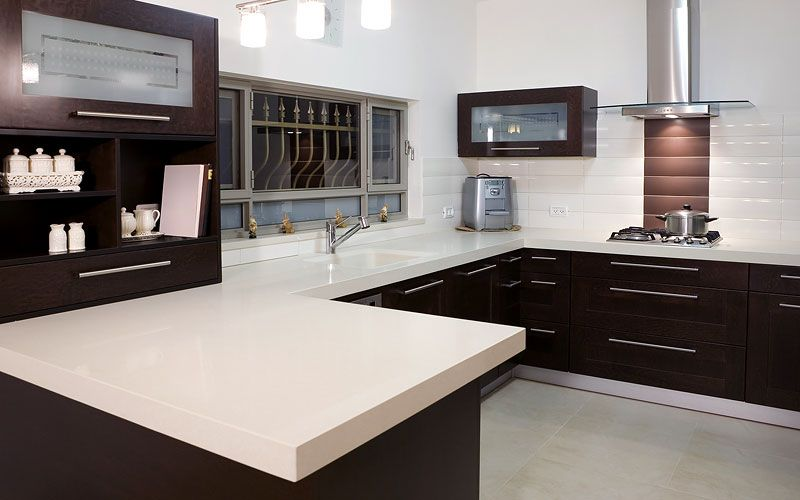 White Quartz Countertops   Google Search