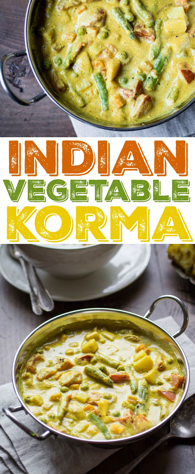 This Delectable Indian Vegetable Korma Is Loaded With